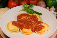 Ravioli (Meat or Cheese)